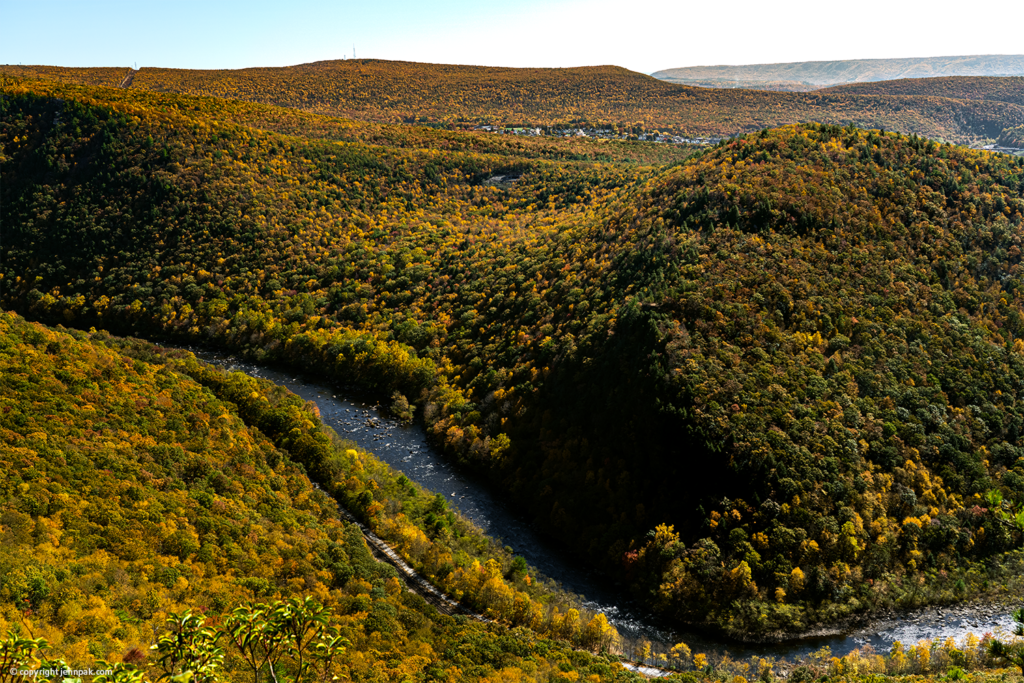Lehigh Gorge Overlook Photo